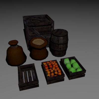 Medieval Props preview image