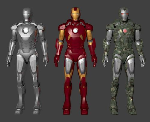 Iron man Mark 7 armors preview image