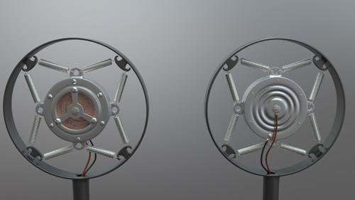 Carbon ringmount microphone preview image