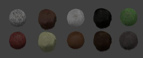 Hair/Fur Library preview image