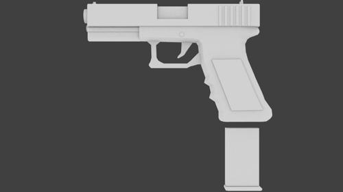 Glock 19 Rigged preview image