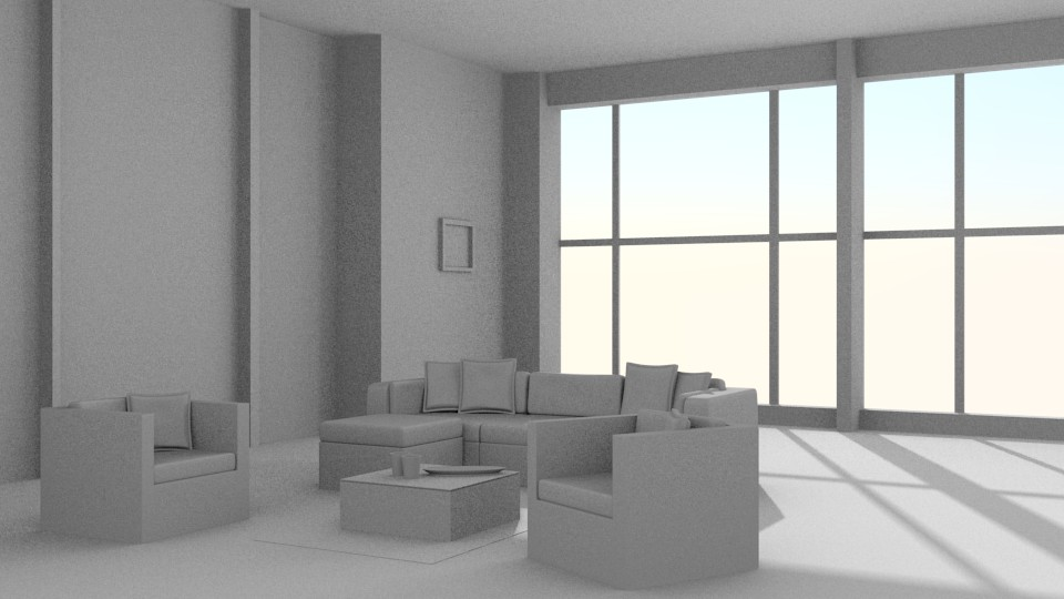 Interior Scene: Living Room preview image 1