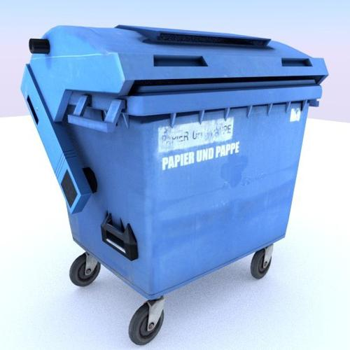 garbage container with ragdoll settings preview image