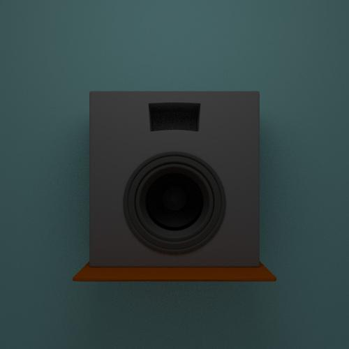 Subwoofer untextured preview image
