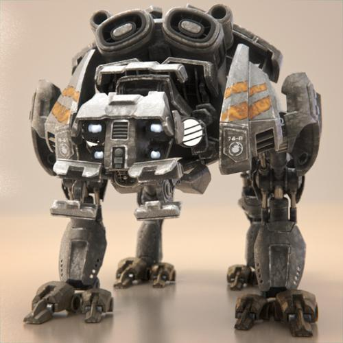 Tears of Steel - Quad Bot preview image