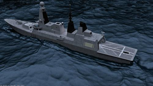 HMS Daring preview image