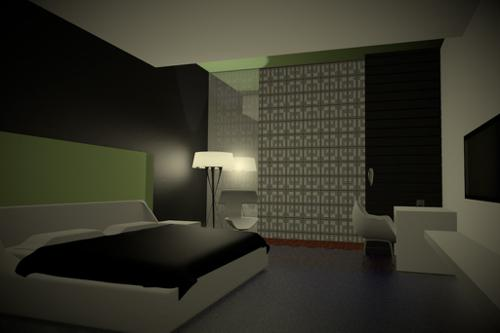 Modern Bedrooom  preview image