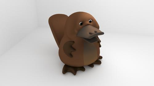 Platypus doll preview image