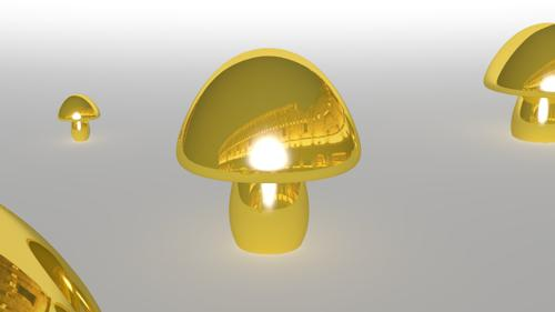 gold fungi preview image
