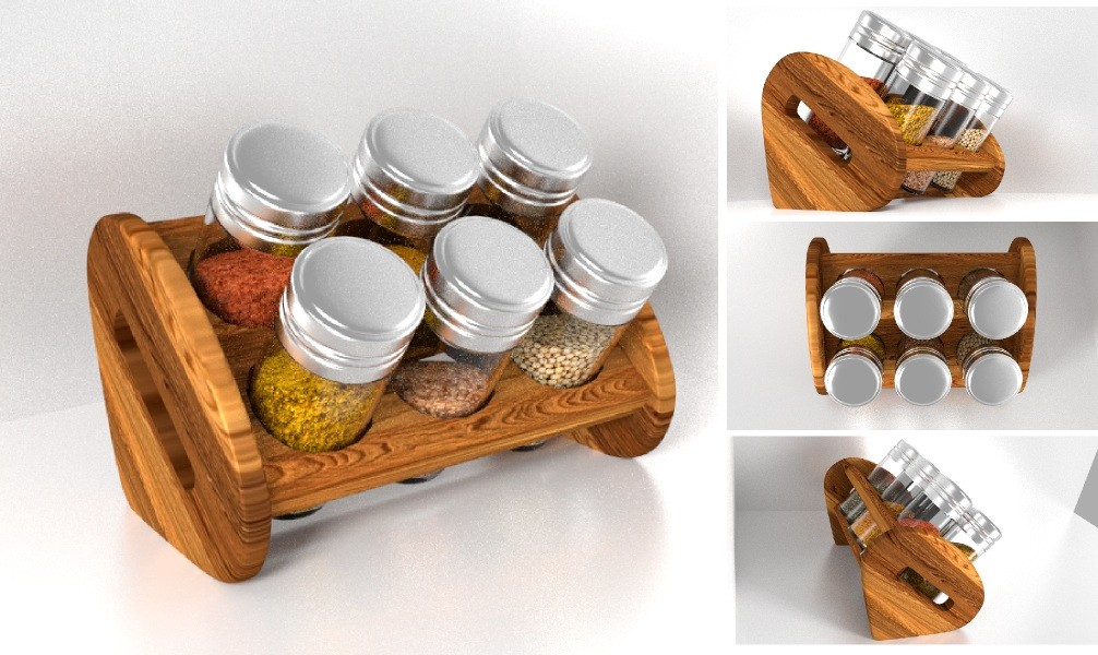 Spice Jar Bottle Set preview image 1