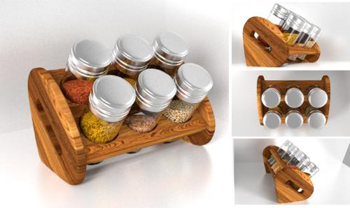 Spice Jar Bottle Set preview image