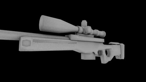 Sniper rifle L11A53 preview image