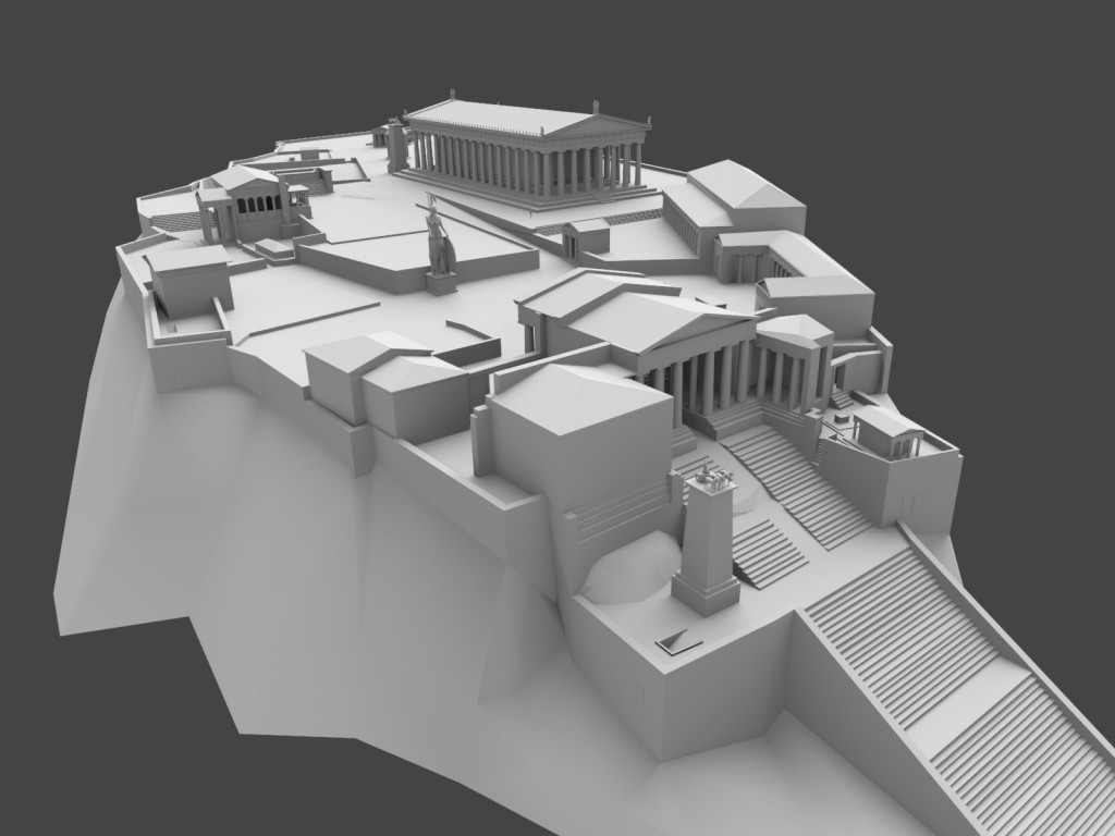 Acropolis of Athens 165AD preview image 1