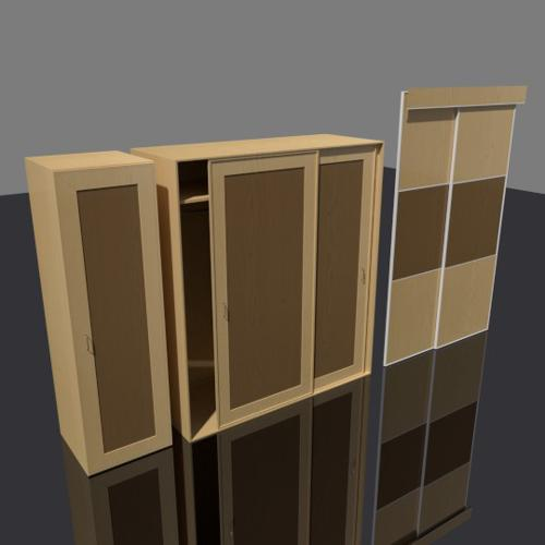 Wardrobe and sliding door preview image