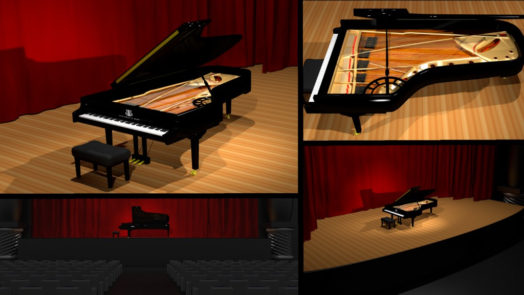Steinway D274 preview image 1