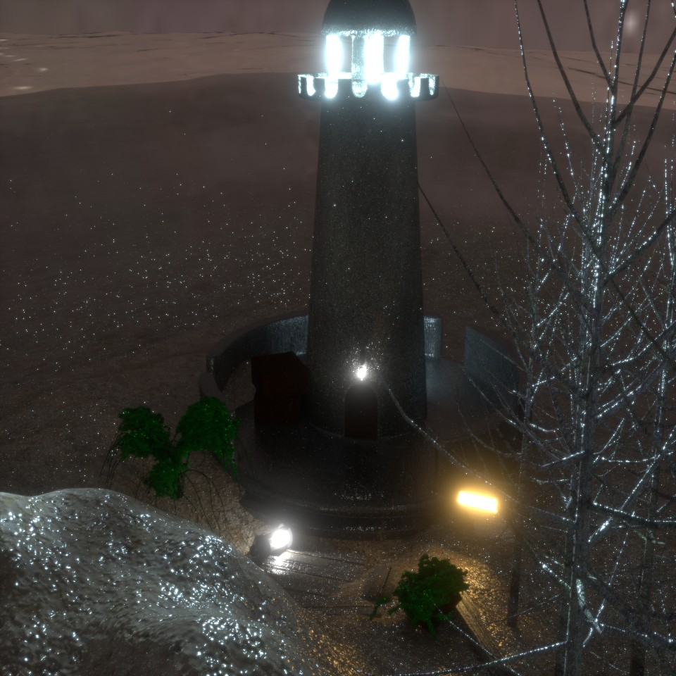 Lighthouse Scene preview image 1