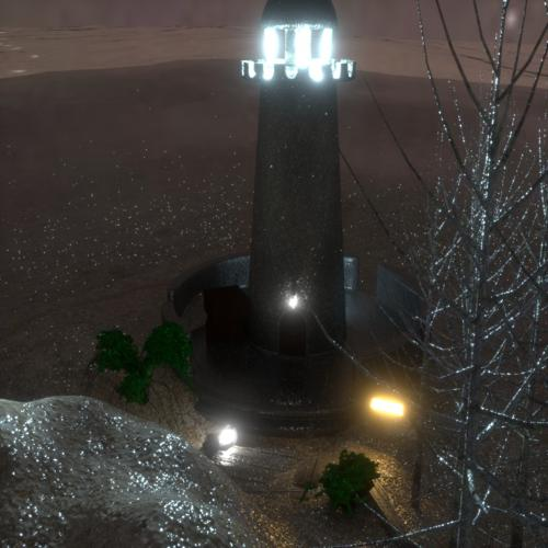 Lighthouse Scene preview image