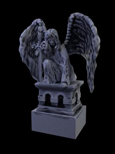 Angel statue preview image