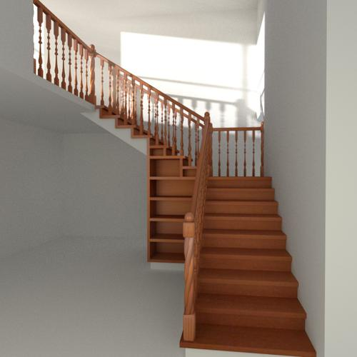 Wooden Staircase preview image