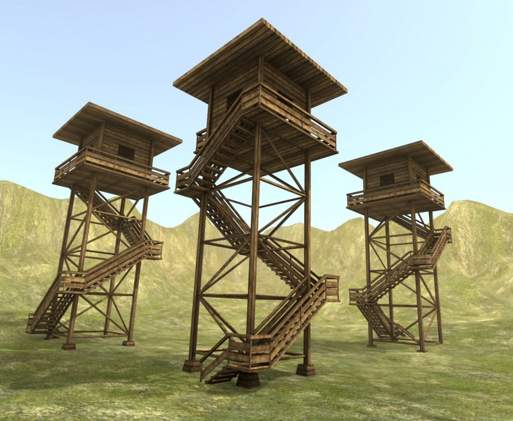 Wooden Watch Tower preview image 1