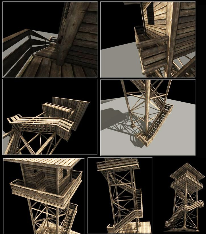 Wooden Watch Tower preview image 3
