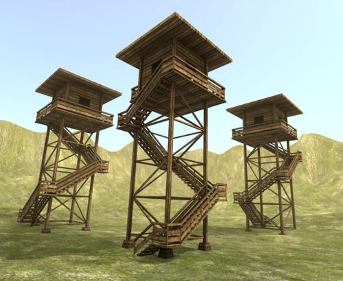 Wooden Watch Tower preview image