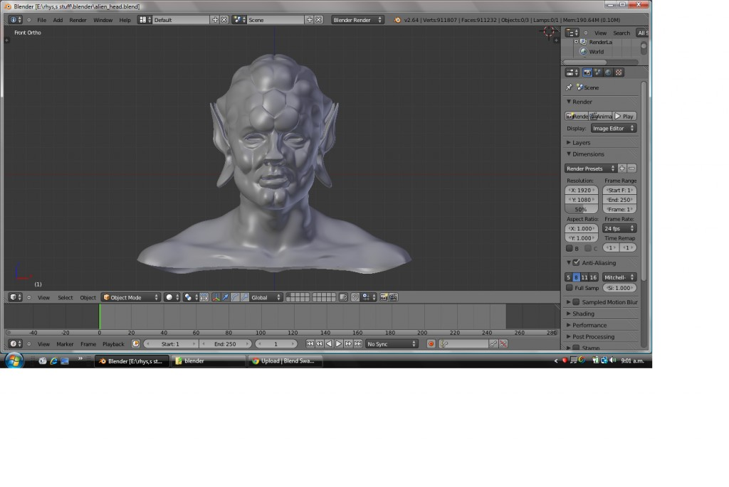Alien Head preview image 1