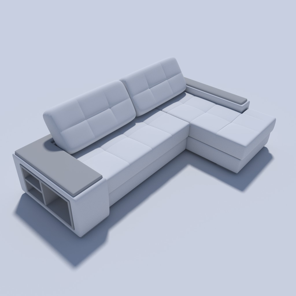 L-shaped sofa preview image 1