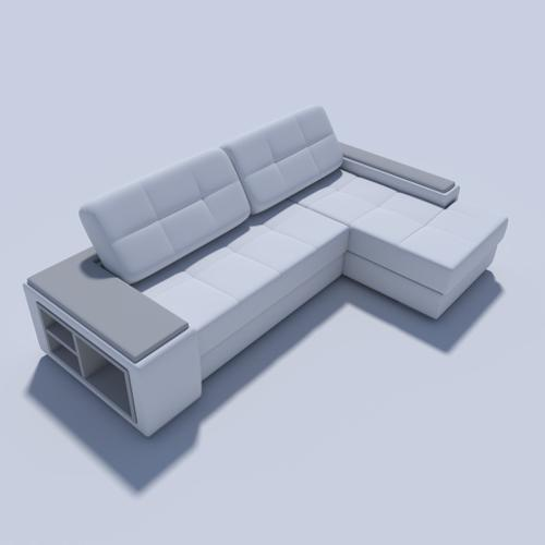 L-shaped sofa preview image