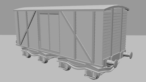 High Poly Carriage preview image
