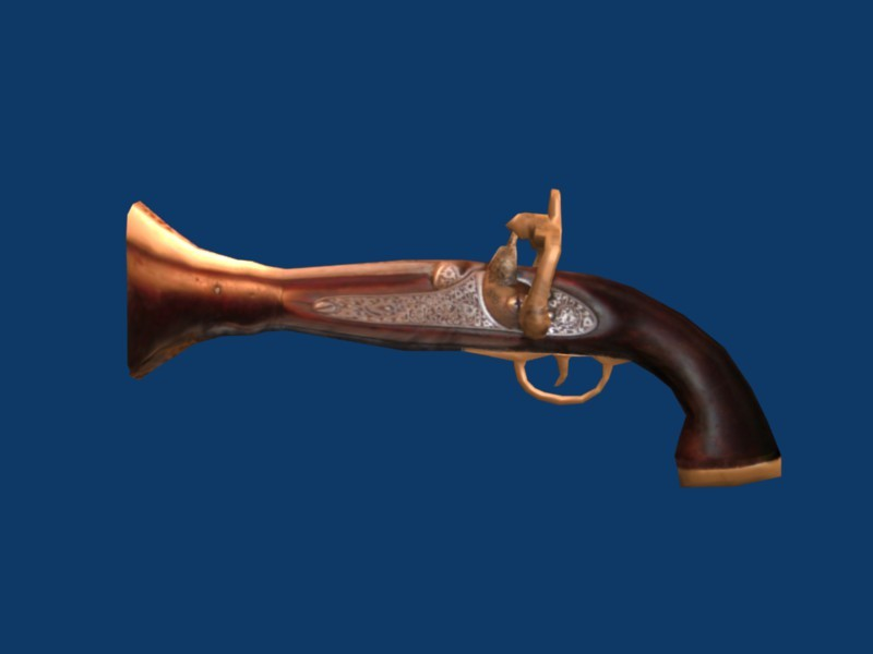 Old Fashioned pistol preview image 1