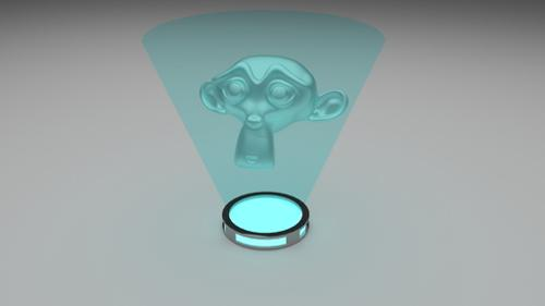 hologram preview image
