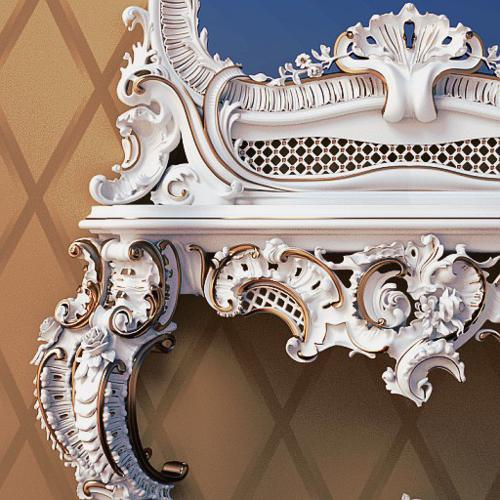 Baroque Mirror Table preview image