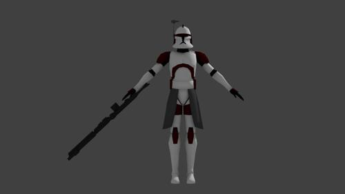 Clone Trooper Commander preview image