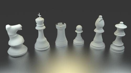 Complete Chess set preview image