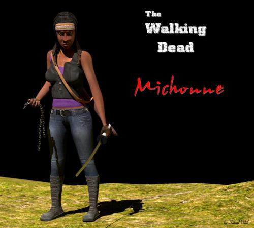 Michonne_The Walking Dead preview image