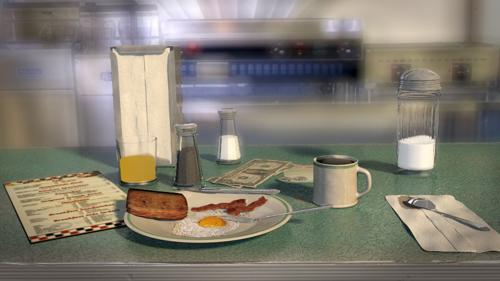Morning at the Diner preview image