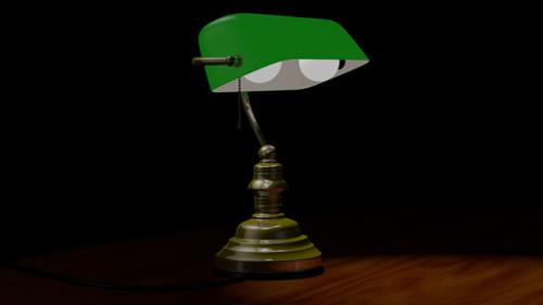 Bankers Lamp preview image