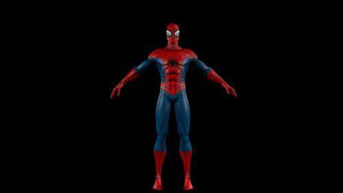 Amazing Spiderman Rigged V2 preview image
