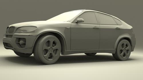 BMWX6 Clay preview image