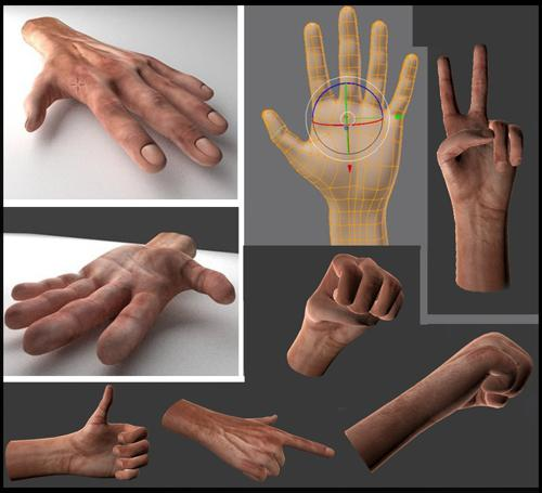 Rigged Hand preview image