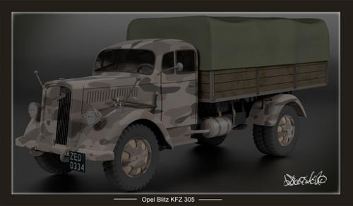 Opel Blitz KFZ 305 preview image