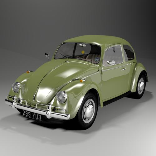VW Beetle Shiny version preview image