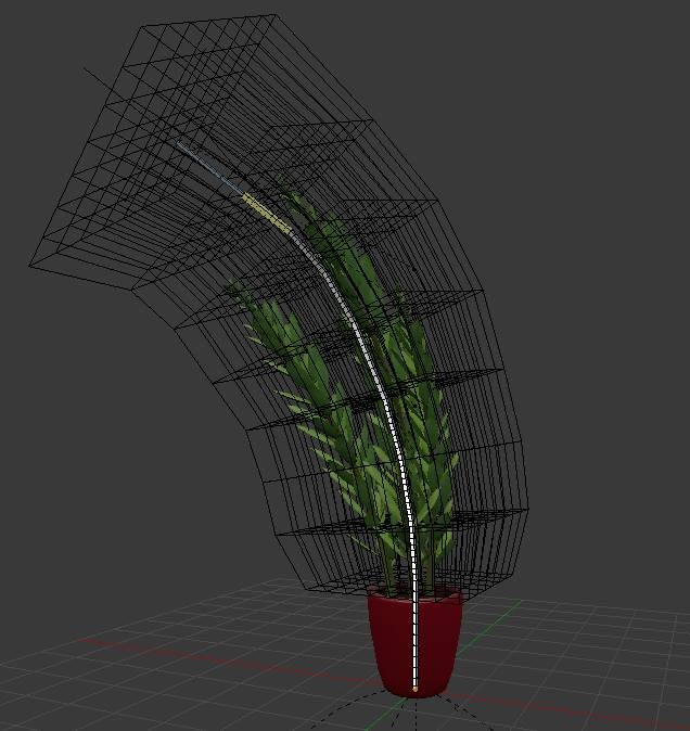 rigged Indoor plant preview image 2