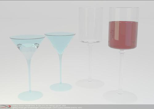 Cocktail glasses preview image