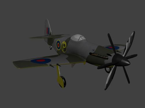 Martin baker MB5 preview image