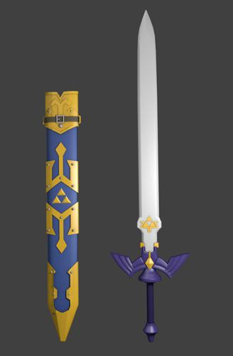 Link's Master Sword preview image