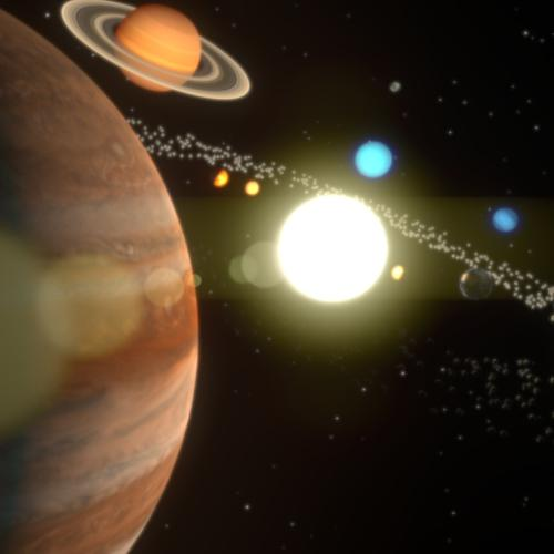 THE SOLAR SYSTEM preview image