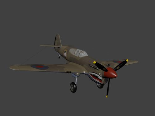 Curtiss P-40 Warhawk preview image