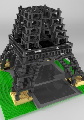 Eiffel Tower LEGO preview image